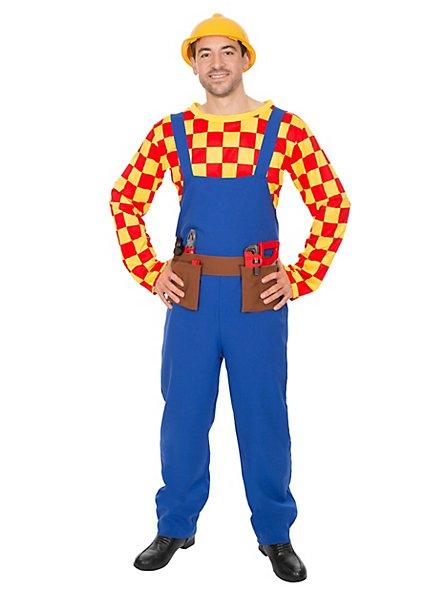 Cartoon Bauarbeiter Kostüm
