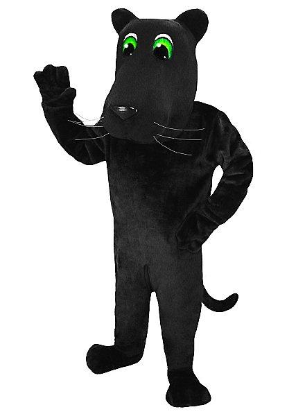 Cartoon Panther Maskottchen