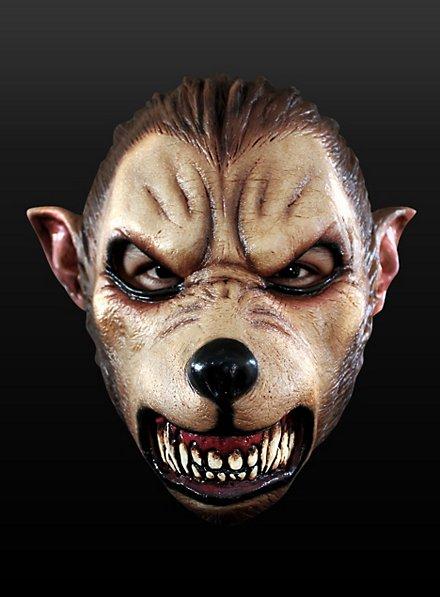 Cartoon Werwolf Maske aus Latex