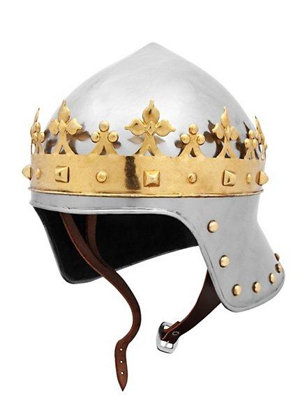 Casque «roi»