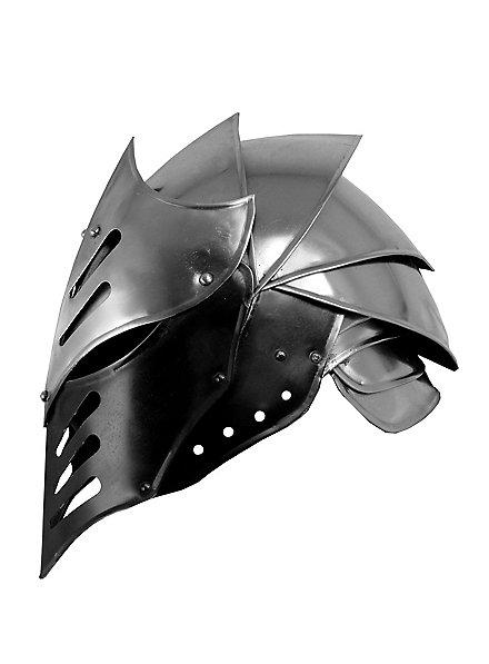 Casque de chevalier obscur