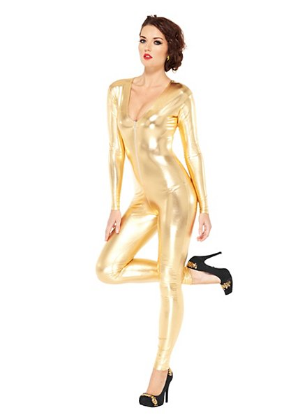 Catsuit gold