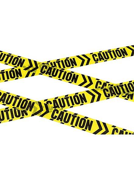 """""""Caution"""" Absperrband"""