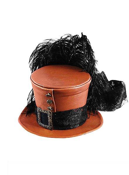 Chapeau burlesque mini haut-de-forme