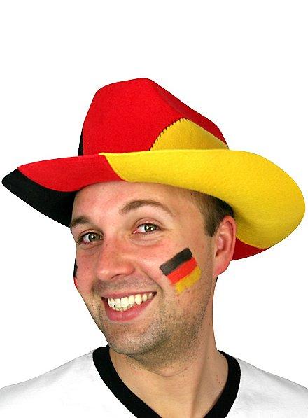 Chapeau de cowboy Allemagne Article de fan
