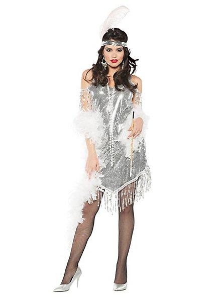 Charleston Paillettenkleid Kostüm