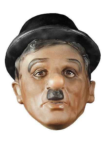 Charlie Chaplin Maske aus Schaumlatex