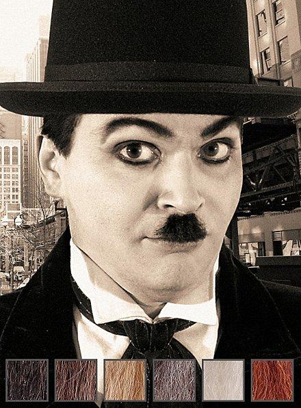 Charlie Moustache professionnelle en poils véritables