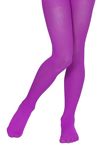 Children's tights purple