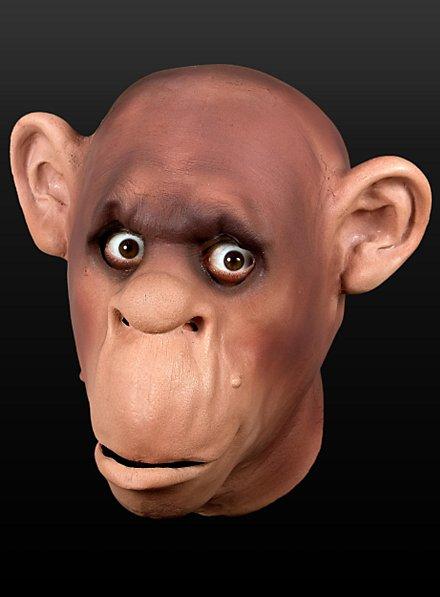 Chimpanzé Masque en mousse de latex