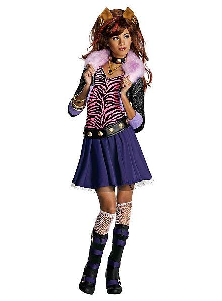 Clawdeen Wolf Kids Costume