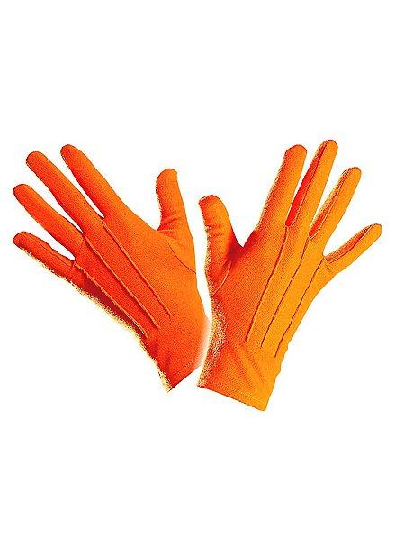 Cloth gloves orange