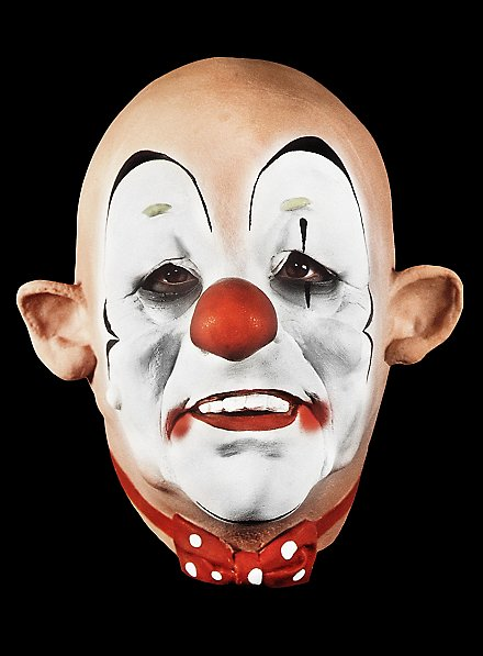 Clown Maske aus Schaumlatex