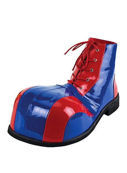 Clown Shoes red-blue