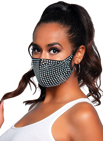 Coco Mundschutz Maske mit Strass