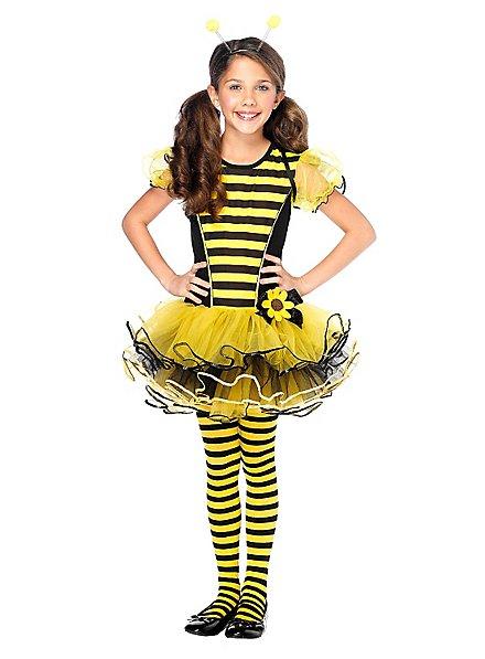 Collants à rayures jaunes et noires enfant