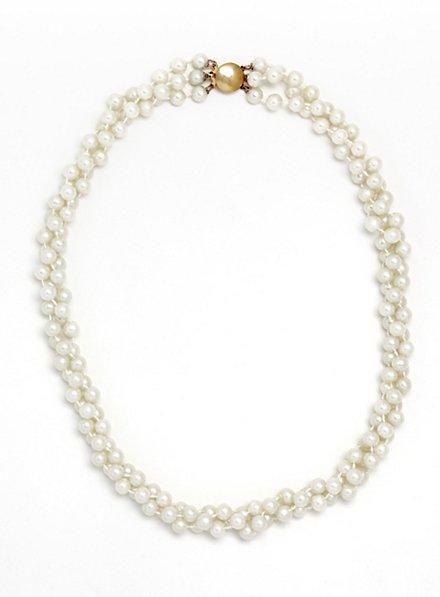 Collier de perles court