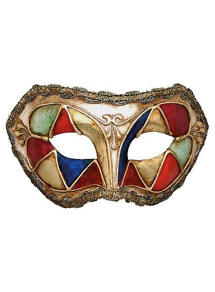 Colombina arlecchino multicolore - Venetian Mask