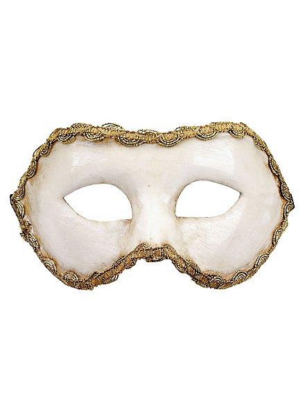Colombina bianca - Venezianische Maske