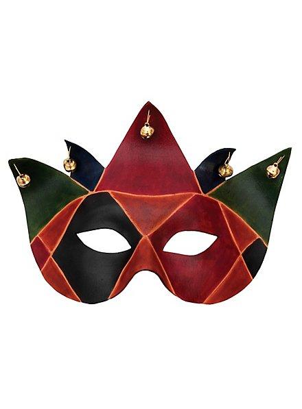 Colombina Joker Venetian Leather Mask