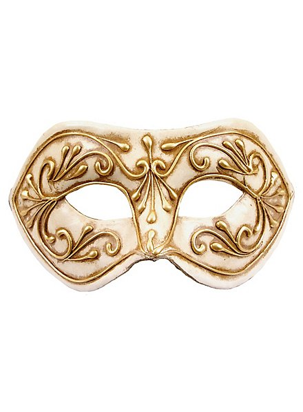 Colombina Monica oro bianco - Venetian Mask