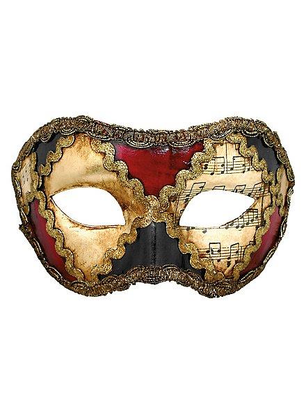 Colombina scacchi colore musica - Venetian Mask