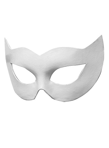 Colombina Spiona white Venetian Leather Mask