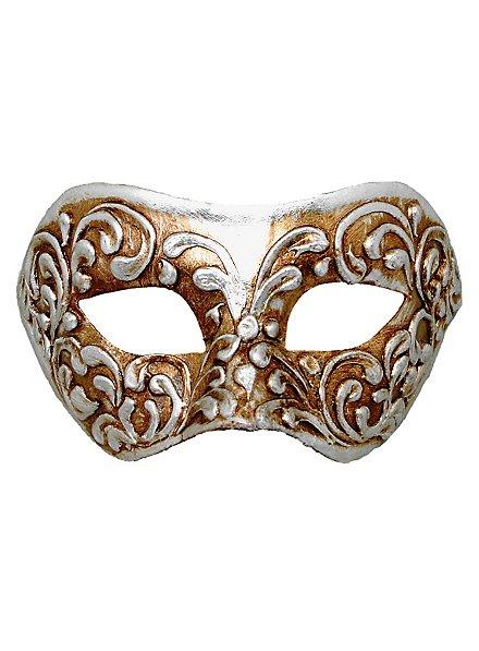 Colombina stucco argento - Venezianische Maske