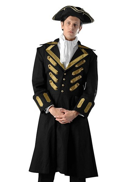 Colonial Military Overcoat Costume