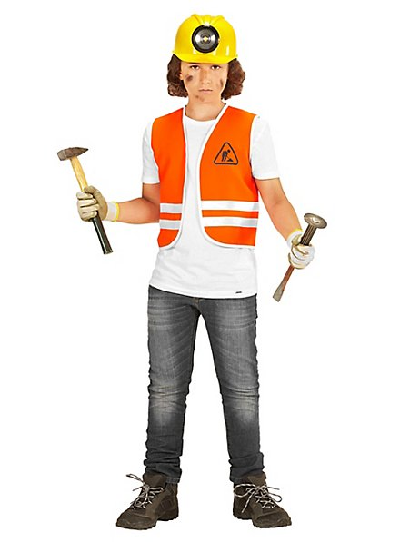 Construction worker vest for children