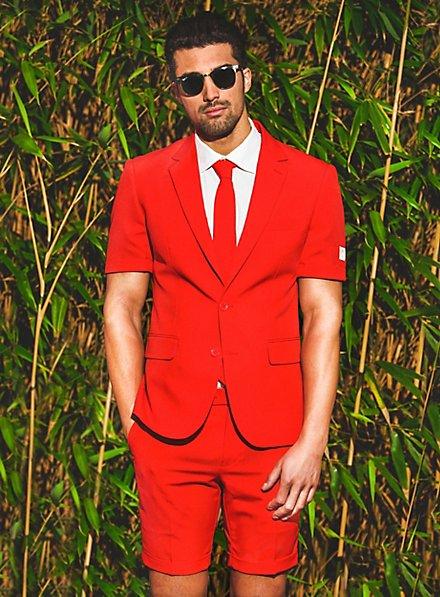 Costard d'été OppoSuits Red Devil