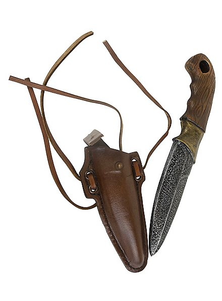Couteau de voyage avec étui en cuir- Iron Fortress