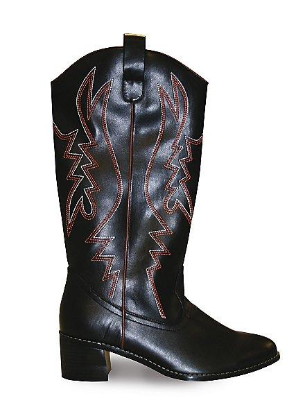 Cowboy Boots Men black