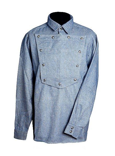 Cowboy Shirt grey-blue
