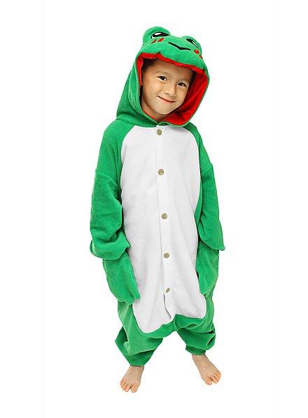 CozySuit Frosch Kigurumi Kinderkostüm