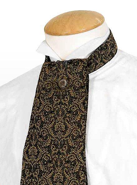 Cravate «Gentleman» verte