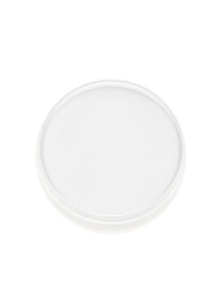 Cream make-up white powder box