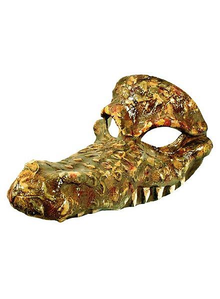 Crocodile - masque vénitien