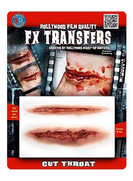 Cut Throat 3D FX Transfers