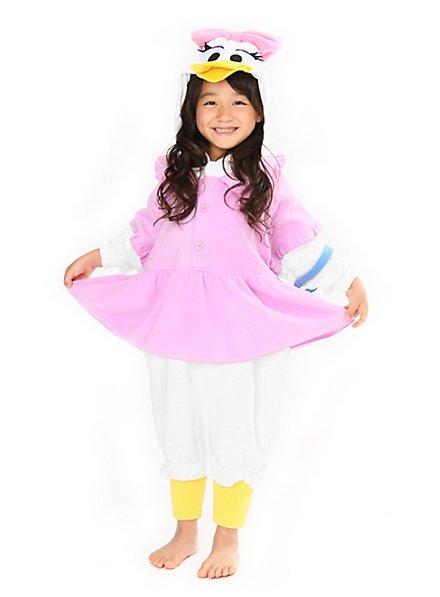 Daisy Duck Kigurumi Kinderkostüm