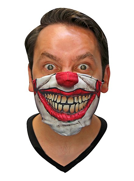 Dammy the Clown Stoffmaske