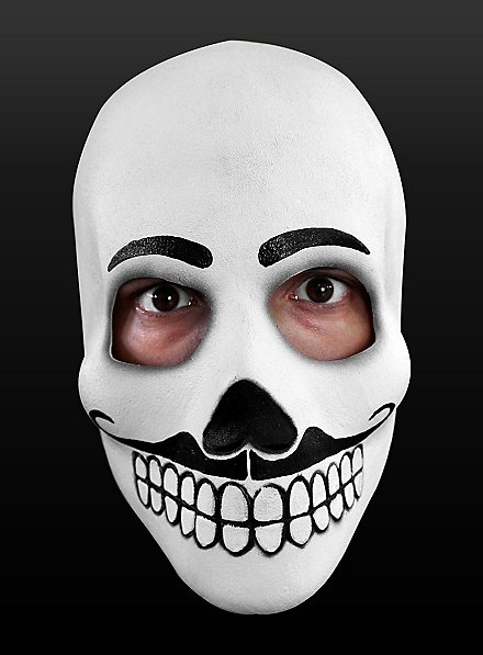 Day of the Dead Mask Fandango Made of Latex