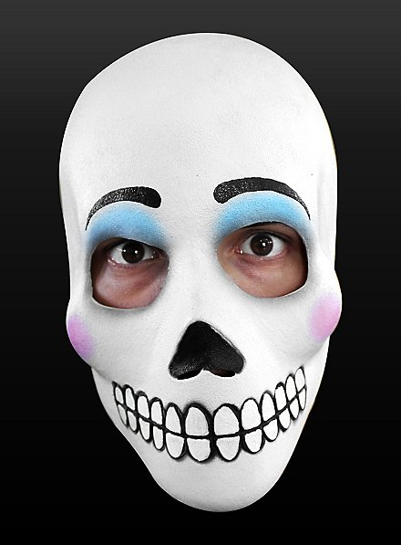 Day of the Dead Mask La Catrina Made of Latex
