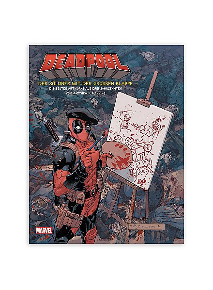Deadpool - The best artworks from three decades book