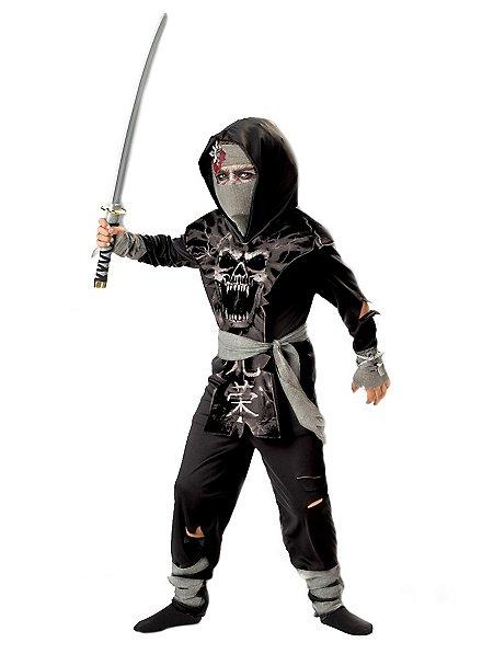 Death ninja child costume