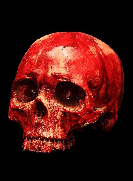 Décoration Crâne ensanglanté
