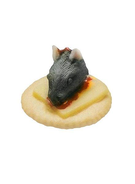 Décoration d'Halloween Cracker dégoûtant au rat