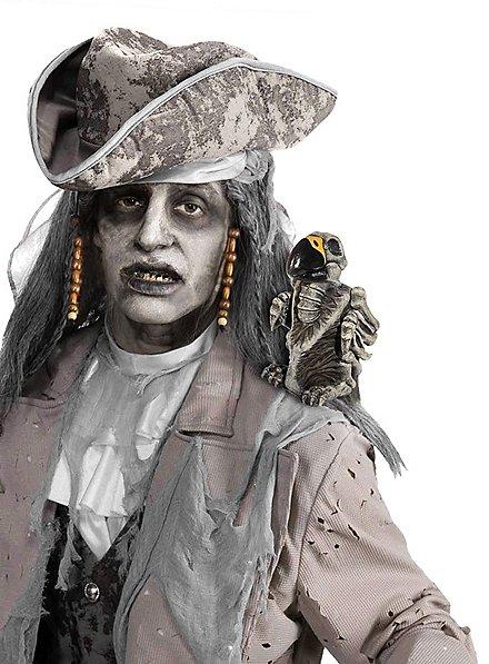 Décoration d'Halloween Perroquet zombie