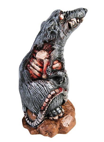 Décoration d'Halloween Rat zombie