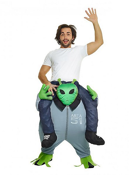 Déguisement Carry Me alien